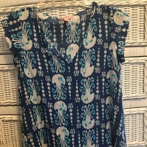 Lilly Pulitzer Jellyfish Shelley Top